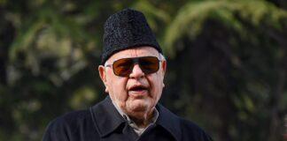 File Photo Dr Farooq Abdullah