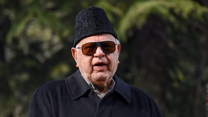 File Photo Dr Farooq Abdullah
