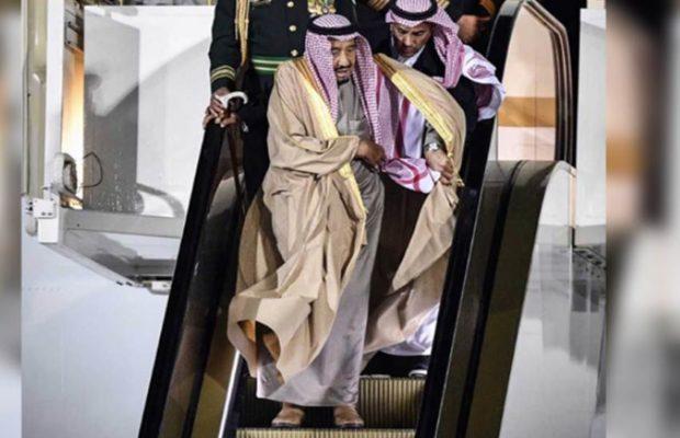 سعودی عرب کے تانا شاہ کنگ سلمان