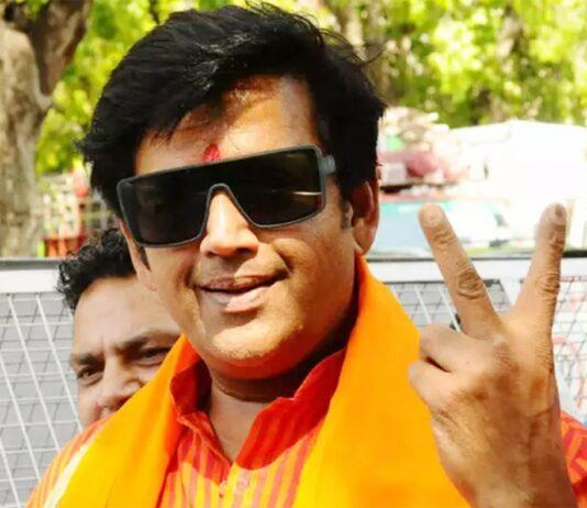 Ravi kishan BJP Member of Parliament