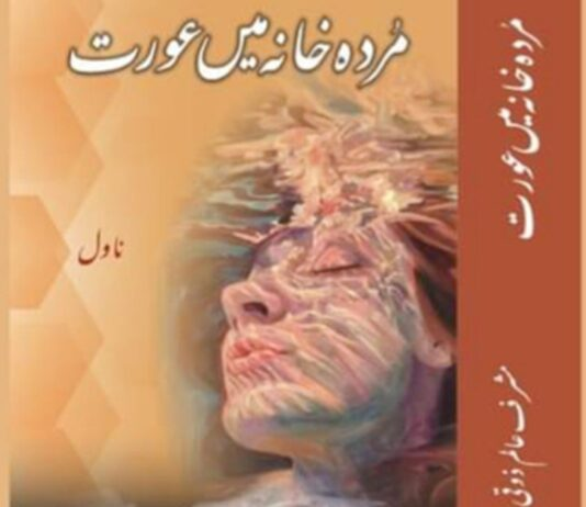 Cover Page ''Murda Khane mein Aurat''