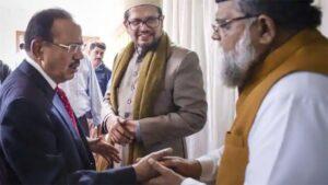 National Security Advisor Ajit Doval acted as a bridge for an inter-faith dialogue